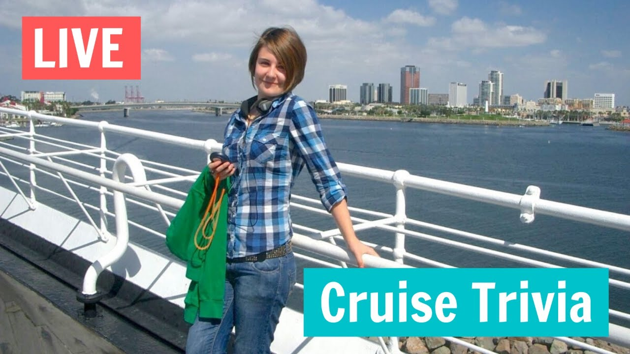 Virtual Cruise Trivia! - Live With Emma Cruises - Week 14