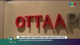 DESVALIJARON LA OFICINA DE OTTA PROYECT, UNA EMPRESA DE SOFTWARE PARA DISCAPACITADOS