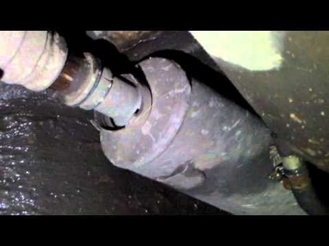 Снятие кардана ВАЗ 2101-2107.Removing cardan VAZ 2101-2107.