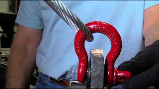 Crosby Rigging Tips - Side Loading of Crosby Shackles - Universal