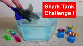 HexBug Aquabot 2.0 - Shark Tank Challenge - Aquabot 2.0 v RoboFish Teams in 5 Survival Rounds