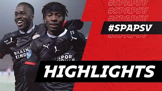 Lots of GOALS 🧮 in a SNOWY 🌨 Rotterdam | HIGHLIGHTS Sparta Rotterdam - PSV