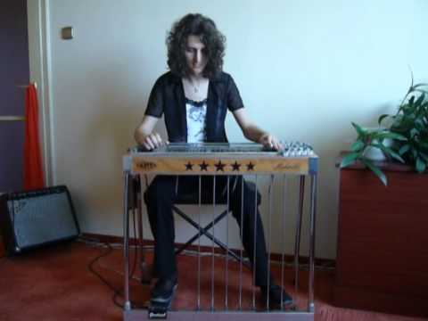 Hallelujah on pedal steel guitar