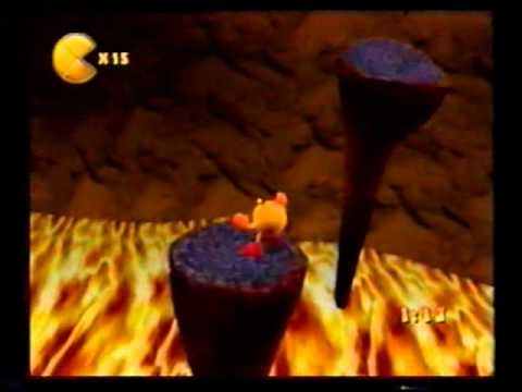 Pac Man World 2 Volcanic Panic Time Trial