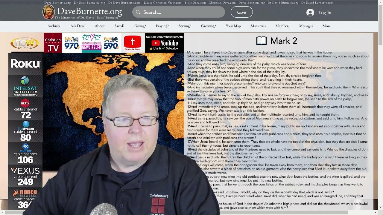 Mark 2 ✒️ Bringing Others to Jesus