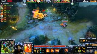 EG vs Vici Gaming - Game 2 (Dota 2 Asia Championships) - GoDz & Merlini