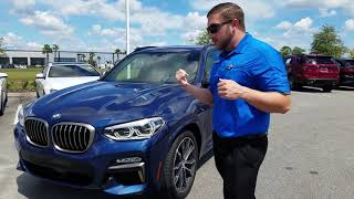 Learn About BMW Park Distance Control In A 2019 BMW X3 M40i