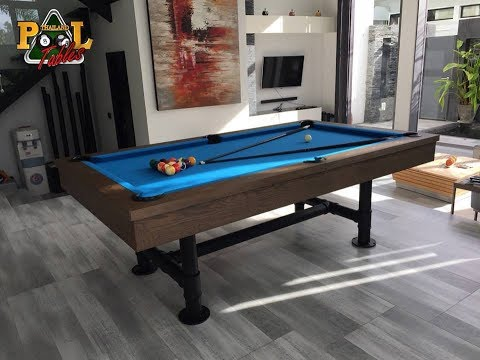 The Loft Rustic Dining Pool Table by Thailand Pool Tables