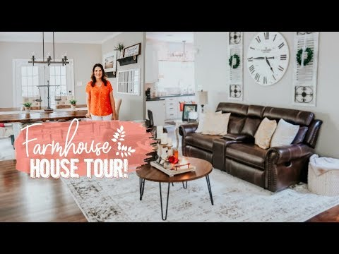 FARMHOUSE STYLE HOME TOUR