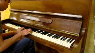 "Richard Clayderman - ""Memory"" and ""A man and a woman"" - piano cover by Huan Tran"