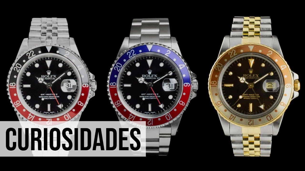 Os mais famosos apelidos de Rolex