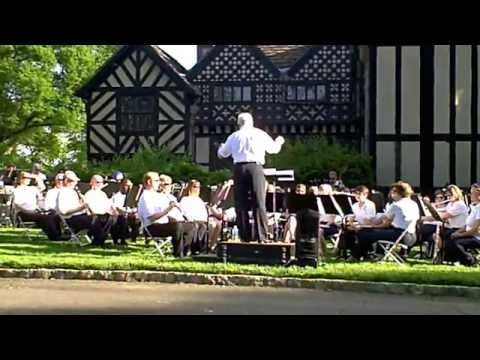 The Richmond Concert Band Performed at Agecroft Hall
