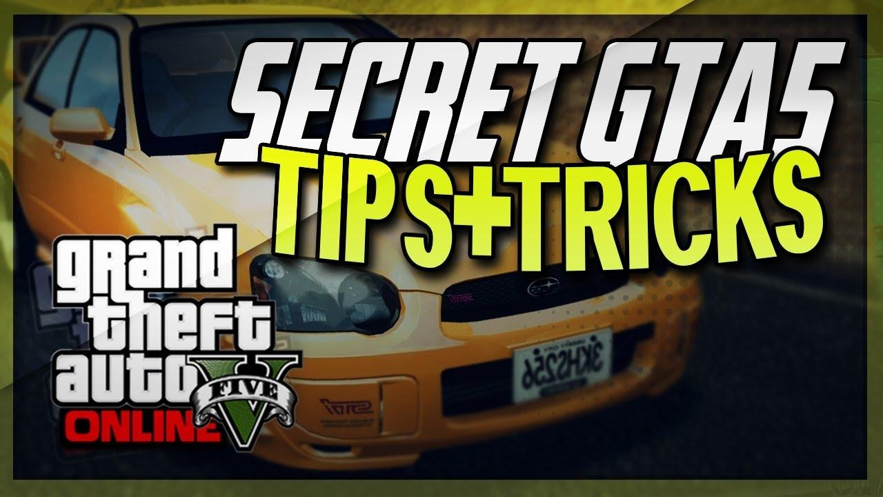 Gta 5 Tricks