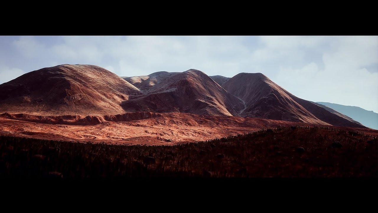 Brushify - Desert Mountains Pack
