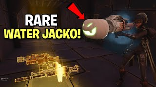 dumb scammer had the RAREST GUN! but not anymore! (Scammer Get Scammed) Fortnite Save The World