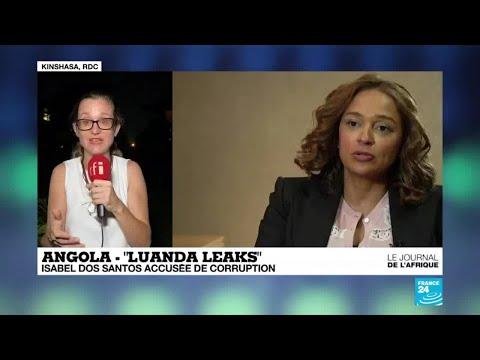 """Luanda leaks"" en Angola : Isabel dos Santos accusée de corruption"