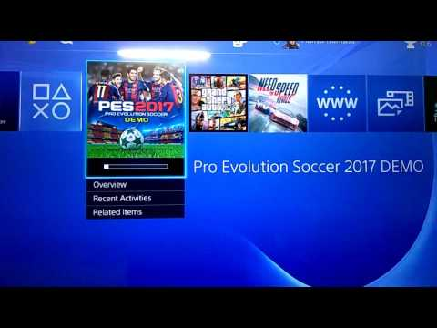 HOW TO DOWNLOAD PES 17 DEMO!! (PS4) FOR FREE!! 100% WORKING, EASY TUTORIAL