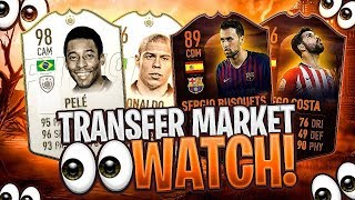 ICONS TO RISE? SCREAM? BLACK FRIDAY? - MARKET WATCH - FIFA 19 Ultimate Team