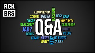 Nasze pierwsze pytania i odpowiedzi - Rock i Borys