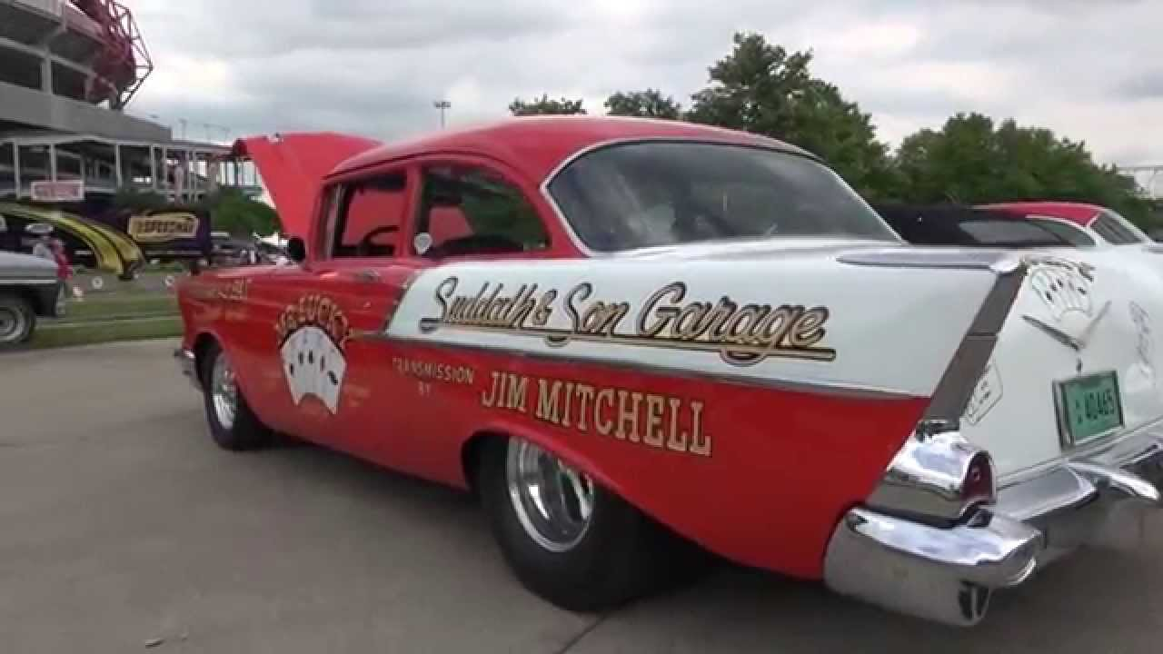 1957 CHEVY 150 'MR. LUCKY' 2014 GOODGUY'S NASHVILLE SHOW - YouTube