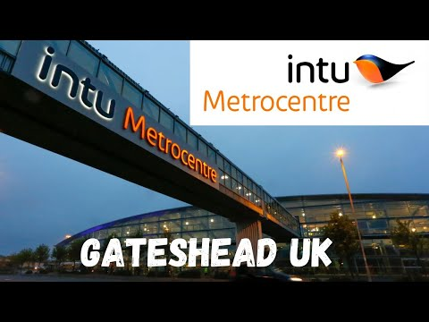 Metrocentre England Largest Indoor Shopping Centre