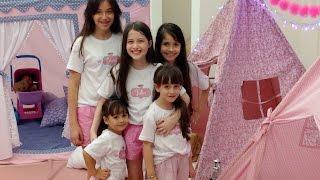 Festa do Pijama com Cabaninhas Julia Silva