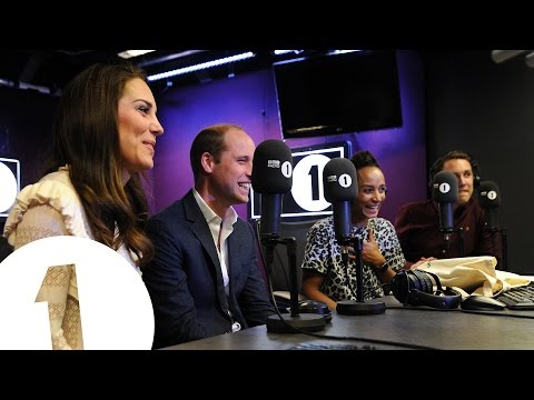 The Duke and Duchess of Cambridge surprise Radio 1's Adele R