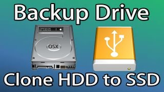 How to Backup Clone Mac Hard Disk to SSD Drive (Disk Utility)