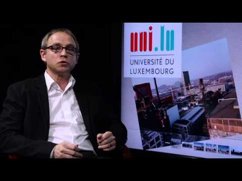 Meet with Thomas Barra -- Project Manager Belval, University of Luxembourg