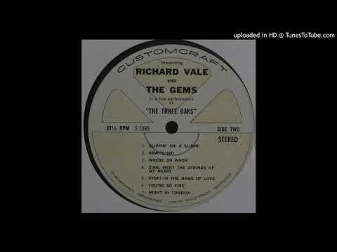 Richard Vale And The Gems -The Shadow Of Your Smile