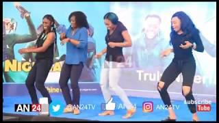 NIGERIAN BOBSLED TEAM DANCE LEGBELEGBE AND SHAKU SHAKU BEFORE DEPARTING FOR WINTER OLYMPICS