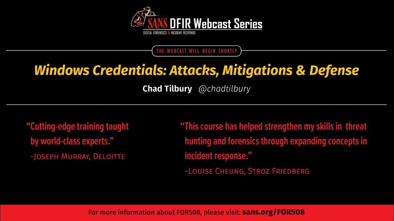 Windows Credentials Attacks, Mitigations & Defense