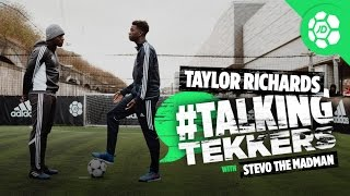 Taylor Richards of Manchester City #TalkingTekkers With Stevo The Madman