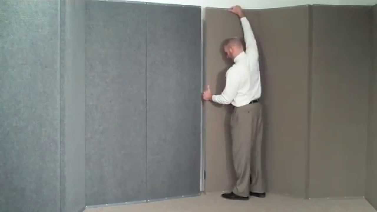 Versifold Folding Acoustical Partition By Versare