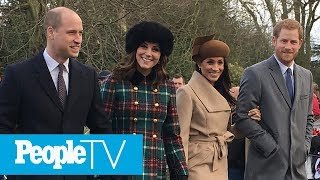 Kate Middleton And Meghan Markle Will Spend Christmas Together Amid Reports Of Tension | PeopleTV