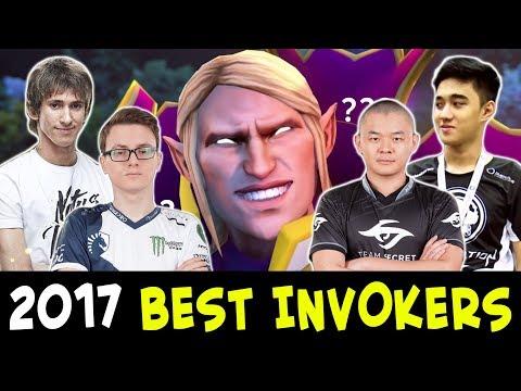 2017 BEST INVOKERS plays — Dota 2