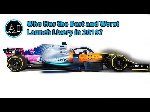 Who Had The Best and Worst Launch Livery?