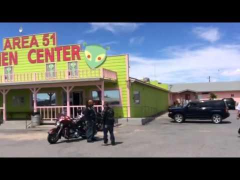 Area 51 alien lookout, near Las Vegas