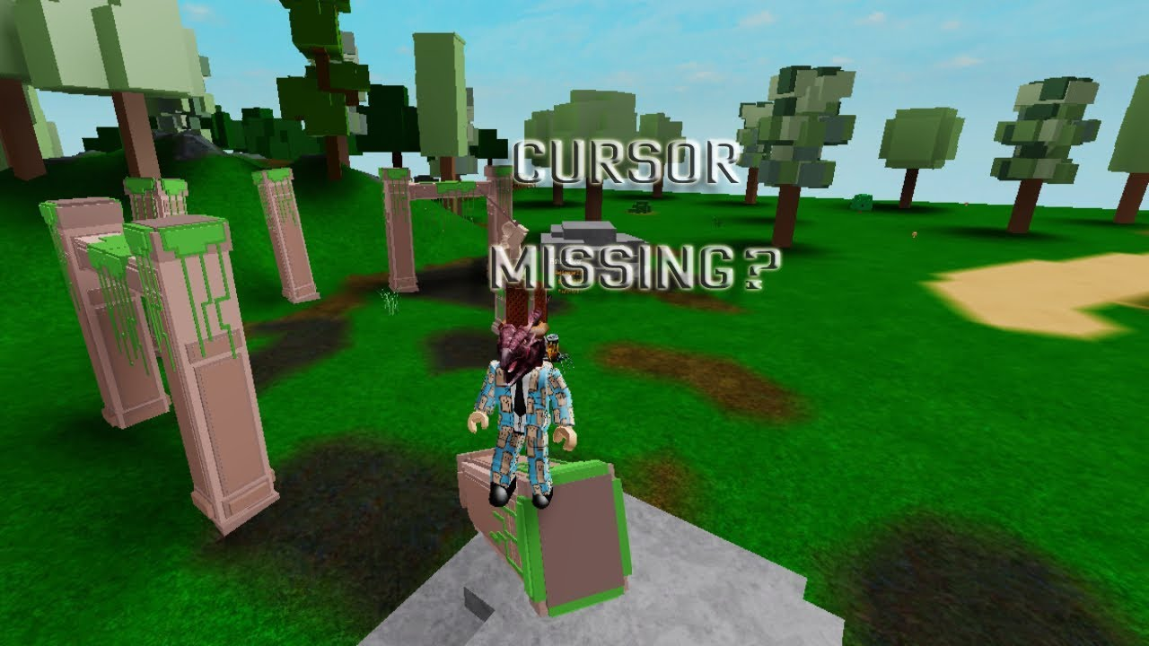 If Your Cursor Is Missing Watch This Roblox Microsoft Computers