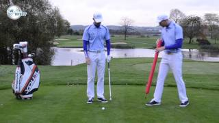 How To Stop Your Slide In The Downswing