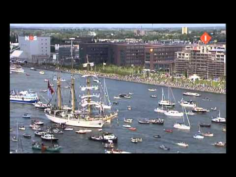 Dewaruci Sail 2010 Amsterdam the Netherlands TV NOS