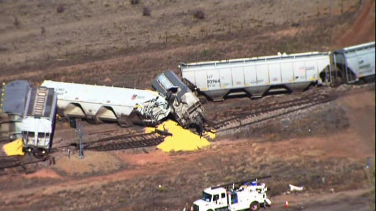Sky News 13 Video: New Mexico train derailment