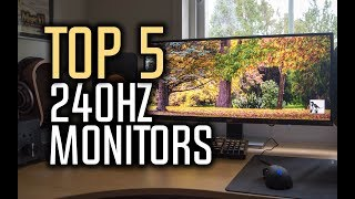 Best 240Hz Monitors in 2018 - Which Is The Best Gaming Monitor?