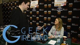 Geek Irealnd meets Hannah Spearritt at MCM Dublin
