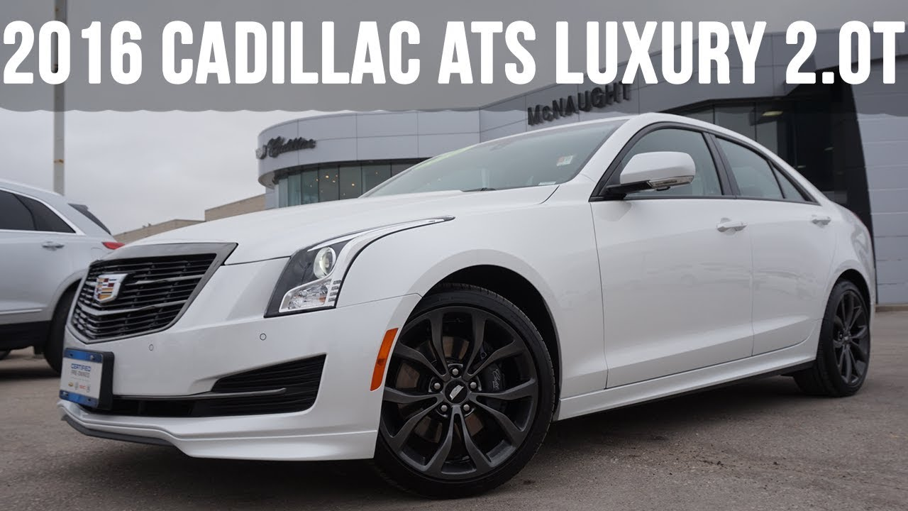 2016 Cadillac Ats Luxury Midnight Edition In Depth Review
