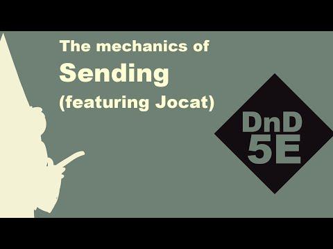 (animated) Sending spell dnd5e