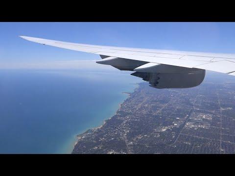 Lufthansa Boeing B747-8i very hard landing in Chicago O'hare!
