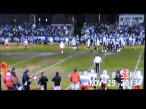 Ripon High vs. Central Catholic Football Playoff  11/29/2013 Part 2