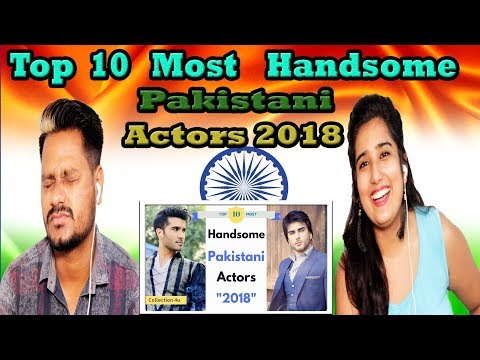 Indian Reaction On Top 10 Most Handsome Pakistani Actors 2018 | Krishna Views