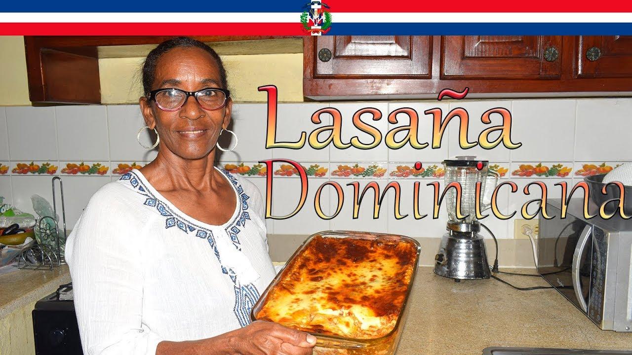 Receta Lasaña Estilo Dominicana - Cocinando con Yolanda